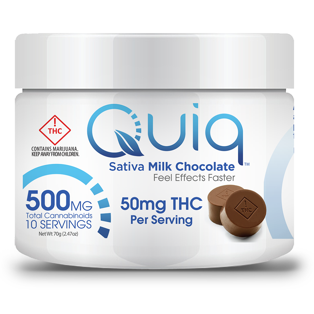 QUIQMED - Chocolate - Sativa Milk Chocolate 500T-RENDERING