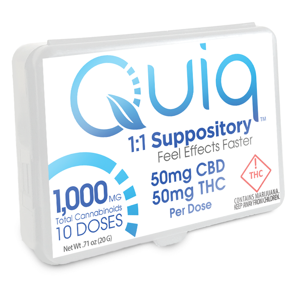 QUIQMED - Suppository - 500C500T-RENDERING